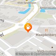 Kaart Maagdenberg Grand Café Venlo, Nederland