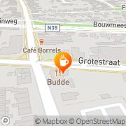 Kaart Uncle Sam Café Nijverdal, Nederland
