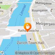 Karte Rathaus Café Zürich, Schweiz