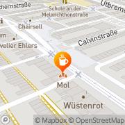 Karte Markt-Cafe Bremen, Deutschland