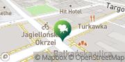 Map Kino Praha Warsaw, Poland