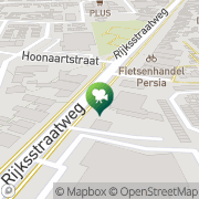 Kaart Tivoli Theater Hellevoetsluis, Nederland