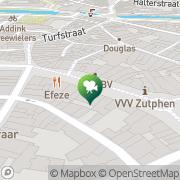 Kaart Luxor Filmtheater Zutphen, Nederland