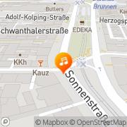 Karte Cord München, Deutschland