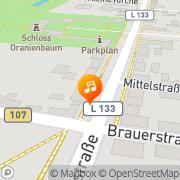 Karte SGSV Landesverband Sachsen-Anhalt e.V. Oranienbaum, Deutschland