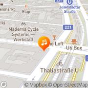 Karte The Loft Wien, Österreich