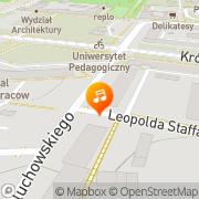 Mapa Zakątek Kraków, Polska