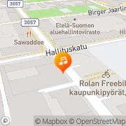 Kartta Metropol Hämeenlinna, Suomi