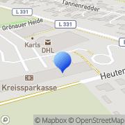 Karte dm-drogerie markt Groß Grönau, Deutschland