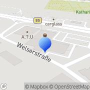 Karte dm-drogerie markt Amberg, Deutschland