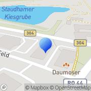 Karte dm-drogerie markt Wasserburg am Inn, Deutschland