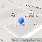 Karte dm-drogerie markt Bitterfeld-Wolfen, Deutschland