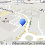 Karte dm-drogerie markt Fredersdorf-Vogelsdorf, Deutschland