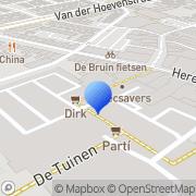 Kaart Tuinen De Naaldwijk, Nederland