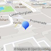 Kaart Tuinen De Zoetermeer, Nederland