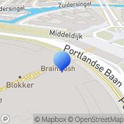 Kaart Etos Barendrecht, Nederland