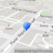 Kaart Minerva Drogisterij Parfumerie Puttershoek, Nederland