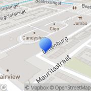 Kaart Da Drogisterij & Parfumerie Terlouw Hendrik-Ido-Ambacht, Nederland