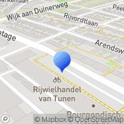 Kaart Arteka Drogisterij Beverwijk, Nederland