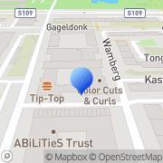 Kaart Zonnebloem Drogisterij Parfumerie Amsterdam, Nederland