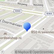 Kaart Kooijman Drogisterij Hilversum, Nederland