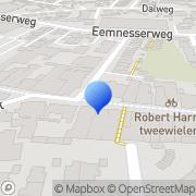 Kaart DA Drogisterij Parfumerie Kok Baarn, Nederland