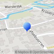 Kaart Hoven Drogisterij De Berlikum, Nederland