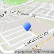Karte dm-drogerie markt Trier, Deutschland