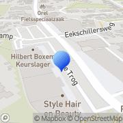 Kaart Etos Gieten, Nederland