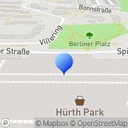 Karte dm-drogerie markt Hürth, Deutschland