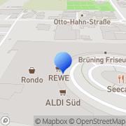 Karte dm-drogerie markt Hanau, Deutschland