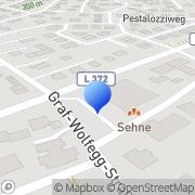 Karte dm-drogerie markt Rottenburg am Neckar, Deutschland