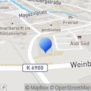 Karte dm-drogerie markt Tübingen, Deutschland