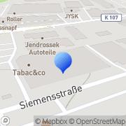 Karte dm-drogerie markt Hildesheim, Deutschland