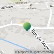 Carte de Ecole Saint Sauveur Mayenne, France