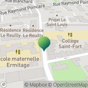 Carte de Ecoles Maternelles Le Bouscat, France