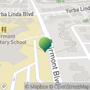 Map Fairmont Elementary School Yorba Linda, United States