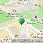 Carte de Collège Montaigne Vannes, France