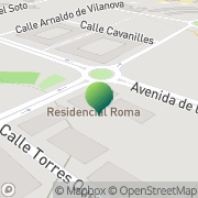 Map CREATICS Arroyo de la Encomienda, Spain