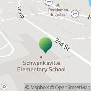 Map Schwenksville Elementary Schl Schwenksville, United States