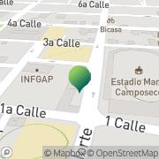 Map Learn Spanish Online Quetzaltenango, Guatemala