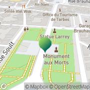 Carte de CFM Bouriette Tarbes, France