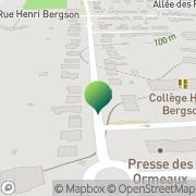 Carte de Collège Henri Bergson Saint-Cyr-sur-Loire, France