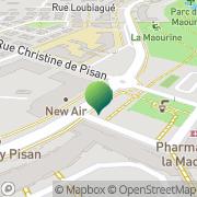Carte de Ecoles Maternelles Toulouse, France