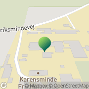 Kort Eriksminde Efterskole Odder, Danmark