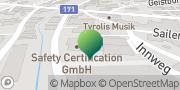Karte Sachverständigenbüro Haller Mario (car-expert) Zirl, Österreich