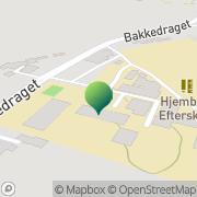 Kort Hjembæk Efterskole Jyderup, Danmark