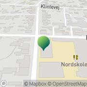 Kort Grundtvigsskolen Nakke, Danmark