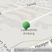 Karte Amberg-Sulzbach e.V. Lebenshilfe Amberg, Deutschland