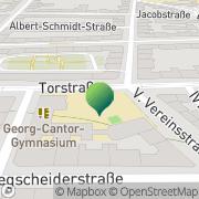 Karte Georg-Cantor-Gymnasium Halle, Deutschland